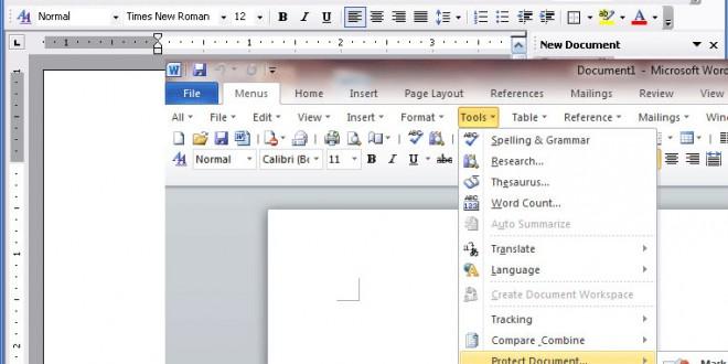 طريقى التعامل مع نظام الـ Ribbon فى Word 2007, 2010  والفرق بينه وبين نظام القوائم Word 2003