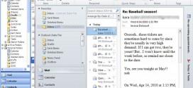 طريقى التعامل مع نظام الـ Ribbon فى Outlook 2007, 2010  والفرق بينه وبين نظام القوائم Outlook 2003