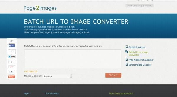 حول اى صفحة على الويب الى صورة Page2Images