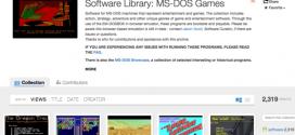 العاب نظام التشغيل MS-DOS متاحة الآن أكثر من 2300 لعبة