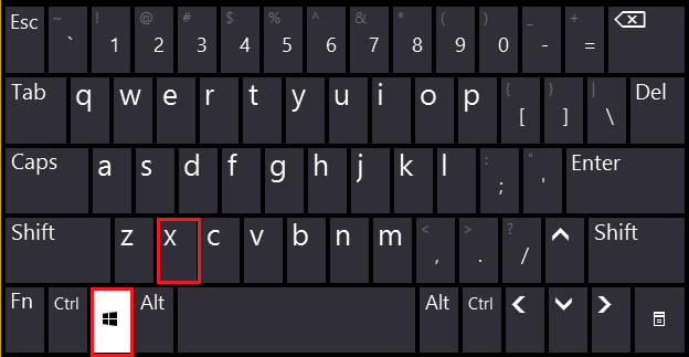 keyboard.png windows+x shortcut