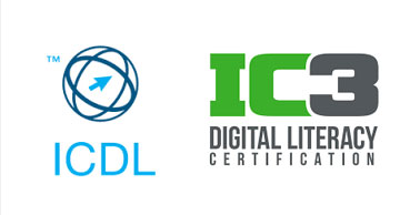 الفرق بين الرخصة الدولية لقيادة الحاسب الآليICDL و الشهاده الدولية للحاسب و الإنترنت IC3
