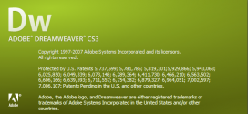 تدريبات على برنامج Adobe Dreamweaver